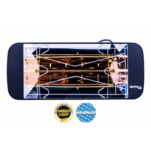 Solero Heliosa 11 amberlight heater IPX5 waterproof