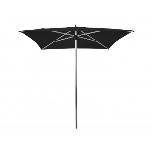 Sublimo parasol 200x200 cm. zwart