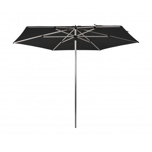 Sublimo parasol 300cm. zwart