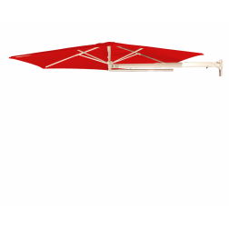 P4 Wandschirm Traffic Red (ø270cm)