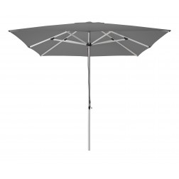 Patio parasol antraciet 300*300cm.